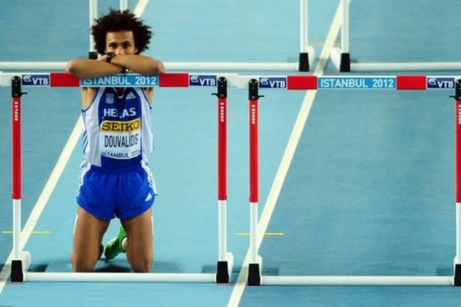 Ο Κώστας Δουβαλίδης αποκλείστηκε από τα ημιτελικά στα 60μ. εμπόδια