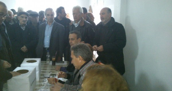 Πραγματοποιήθηκε η κλήρωση των νέων αγροτεμαχίων  του αναδασμού Χρυσοκέφαλου