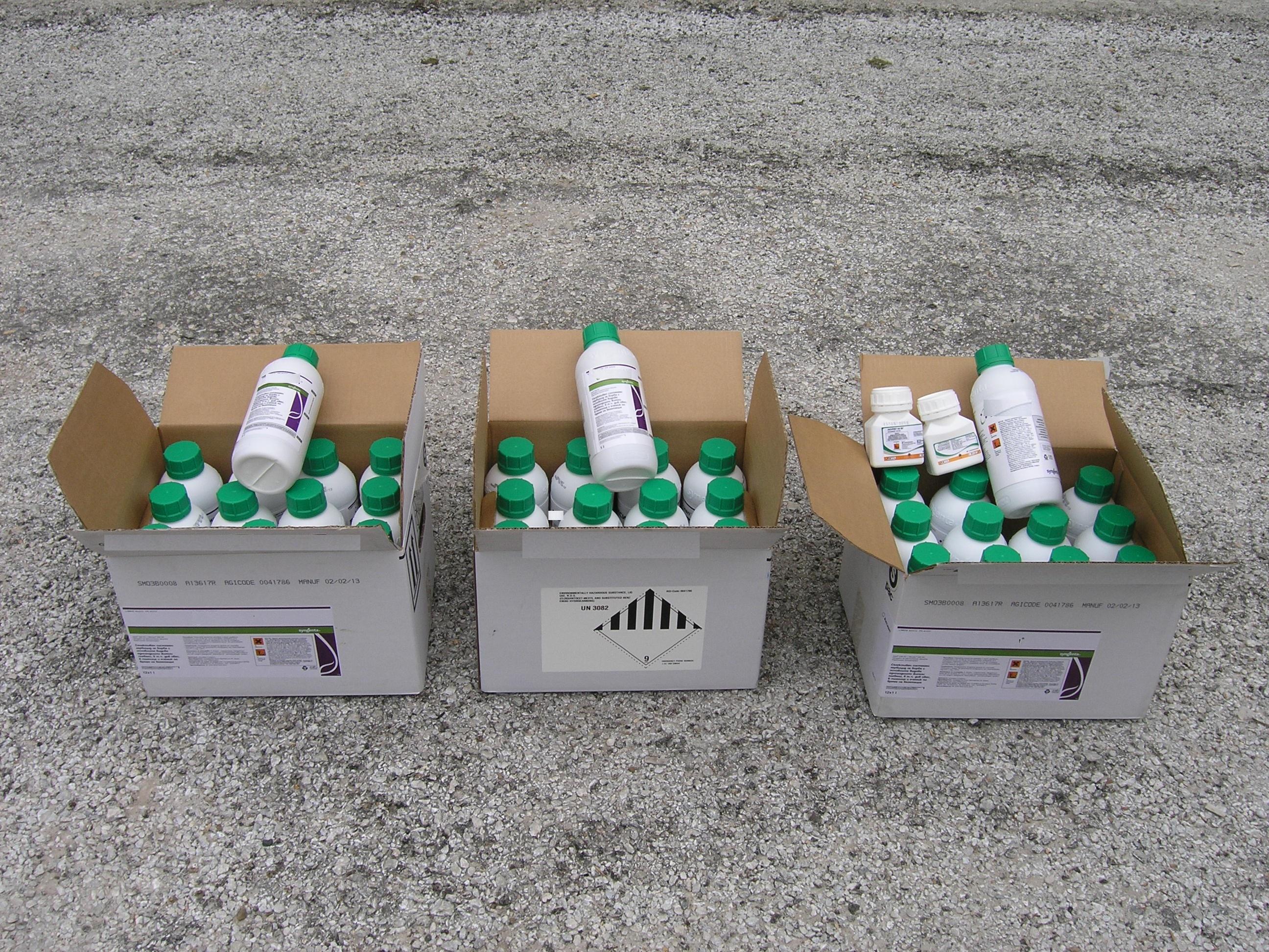 Σύλληψη για εισαγωγή λαθραίων φυτοφαρμάκων