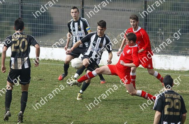 Δόξα Πετρούσας-Μ. Αλέξανδρος Νέας Ζίχνης 2-0