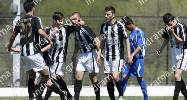 Δόξα – Νίκη Βόλου: 5-0  Football League Νέων