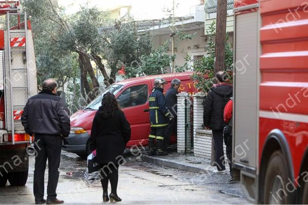 Πυρκαγιά σε διαμέρισμα στο κέντρο της Δράμας.