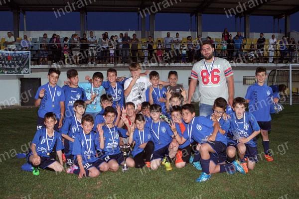 Το τμήμα γεν. 2004-2005 του Ακρίτα Κ.Νευροκοπίου κατέκτησε το  πρωτάθλημα της Ε.Π.Σ. Δράμας