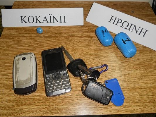 Σύλληψη 3 ημεδαπών για τα -κατά περίπτωση- αδικήματα της εισαγωγής ναρκωτικών στην ελληνική επικράτεια, της διακίνησης και της κατοχής