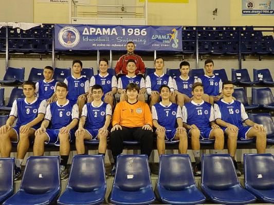 Για τρίτη χρονιά ο ΧΙΛΙΩΤΗΣ ΔΡΑΜΑ 1986 συμμετέχει στο διεθνές τουρνουά της Θεσσαλονίκης