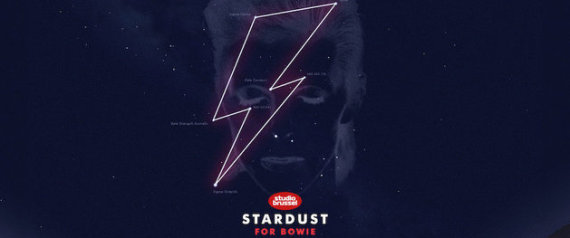 Ο David Bowie έχει πλέον το δικό του αστερισμό και μπορείτε να γράψετε τη δική σας αφιέρωση μέσα του