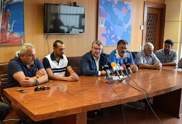 Επίσκεψη Δουβαλίδη - Συλλόγου Κλασσικού Αθλητισμού Δράμας