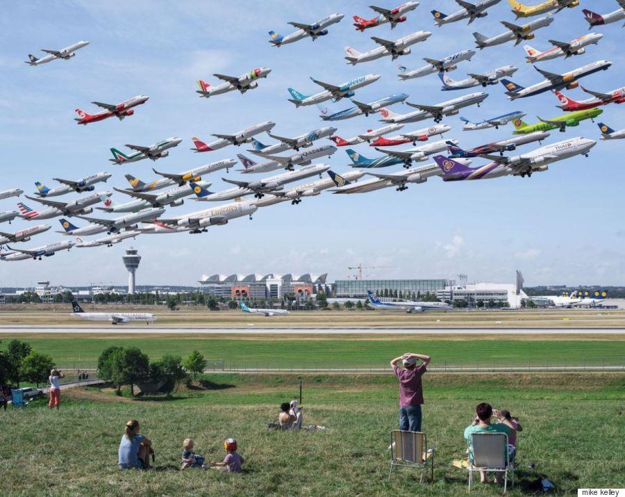 Να τι θα γινόταν αν τα αεροπλάνα πετούσαν σε σμήνη όπως τα πουλιά