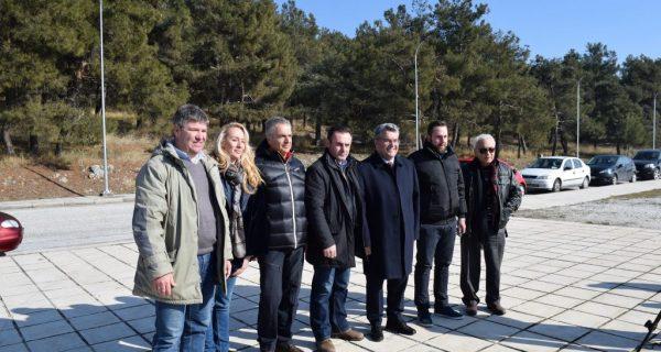 Υλοποίηση του έργου του ηλεκτροφωτισμού στους πρόποδες του Κορυλόβου