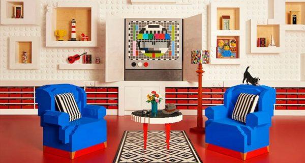 Ένα παραμυθένιο σπίτι φτιαγμένο από 25 εκατ. τουβλάκια Lego