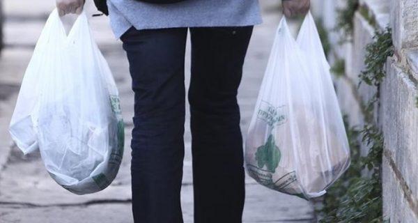 Μείωση 75-80% στη χρήση της πλαστικής σακούλας