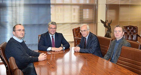 Τον Δήμαρχο Δράμας επισκέφθηκεο Γενικός Πρόξενος της Ρωσίας.