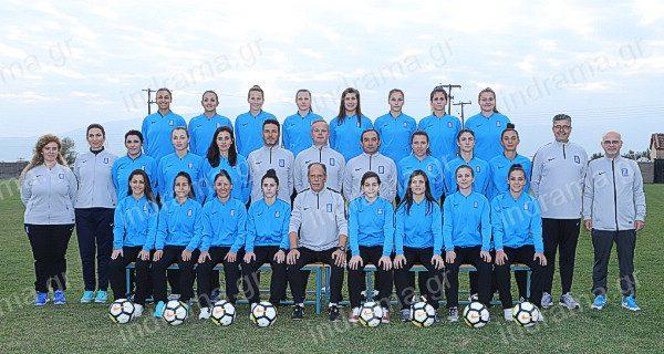 Εθνική Γυναικών Ελλάδας – Εθνική Σλοβακίας σήμερα στην Προσοτσάνη.