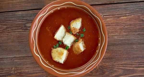Τραχανάς σούπα με ντομάτα