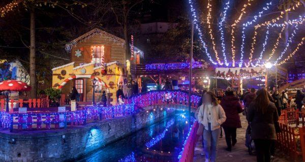 Κατακλύστηκε από κόσμο από την πρώτη ημέρα λειτουργίας της η λαμπερή και φωτεινή Ονειρούπολη!