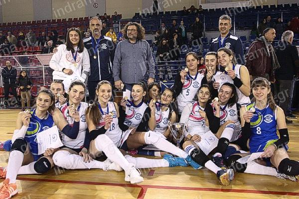 ΟΑ.Σ. Γαία Δράμαςπρωταθλήτρια Νεανίδων 2018-2019 Ανατολικής Μακεδονίας και Θράκης.