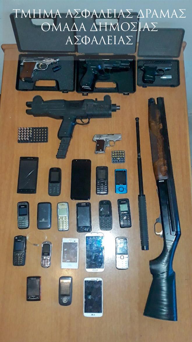Εξιχνιάστηκε κλοπή χρηματοκιβωτίου και 2 κυνηγετικών όπλων από επιχείρηση στη Χωριστή Δράμας