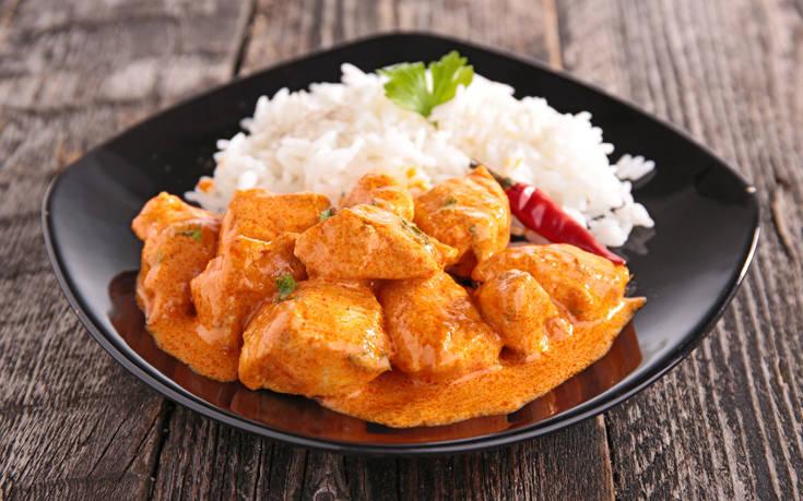 Κοτόπουλο με κάρι