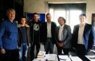 Συνάντηση της ένωσης με το βουλευτή Δράμας κ. Μπλούχο Κωσταντίνο.