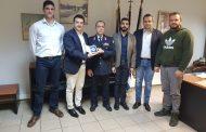 Συνάντηση Ενωσης Αξιωματικών ΑΜΘ με ΓΕΑΒΕ αντριστρ. κ.Σκουμα Κωνστ.