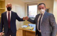 Νέα επίσκεψη του Αντιπεριφερειάρχη Δράμας κ.Γεώργιου Παπαδόπουλου στην Αθήνα για συσκέψεις με φορείς και κυβερνητικούς παράγοντες για θέματα του Νομού Δράμας