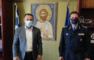 Συνάντηση του Αντιπεριφερειάρχη Δράμας κ.Γεώργιου Παπαδόπουλου με τον νέο Συντονιστή Επιχειρήσεων Κεντρικής-Ανατολικής Μακεδονίας και Θράκης Υποστράτηγο Μάριο Αποστολίδη