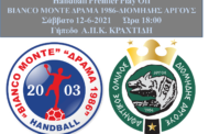 Θέλει την νίκη με Διομήδη Άργους το Σάββατο ο Bianco Monte Δράμα 1986.