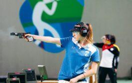 Στην 6η θέση η Άννα Κορακάκη στα 25μ πιστόλι