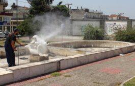 Συντήρηση αγαλμάτων και συντριβανιών δικαιοδοσίας της Π.Ε. Δράμας, μετά από πρωτοβουλία του Αντιπεριφερειάρχη Δράμας κ.Γεώργιου Παπαδόπουλου