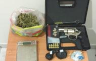 Συνελήφθησαν κατά τη διάρκεια οργανωμένης αστυνομικής επιχείρησης 2 άτομα κατηγορούμενα για παραβάσεις του νόμου περί ναρκωτικών και περί όπλων κατά περίπτωση